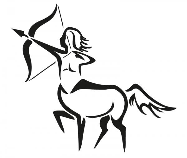 KFZ Aufkleber Sagittarius / Schütze