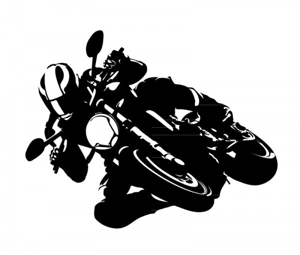 Biker KFZ Aufkleber aus Premium Autofolie