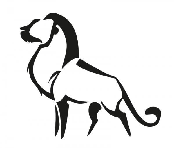 KFZ Aufkleber Leo / Löwe