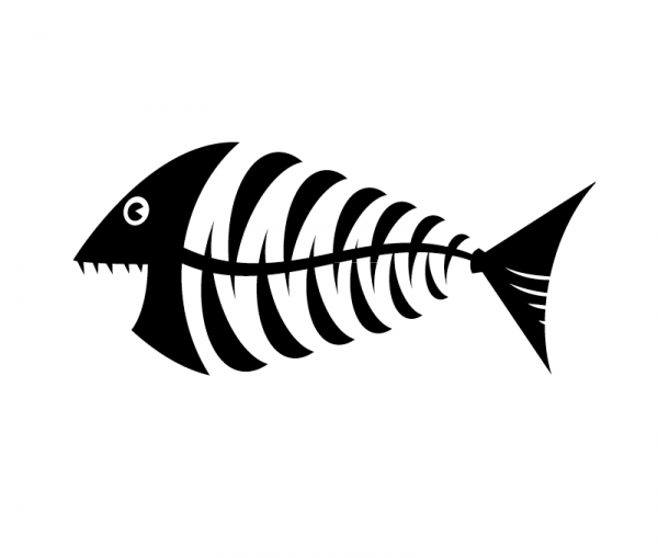 Happy Fishbone Piranha