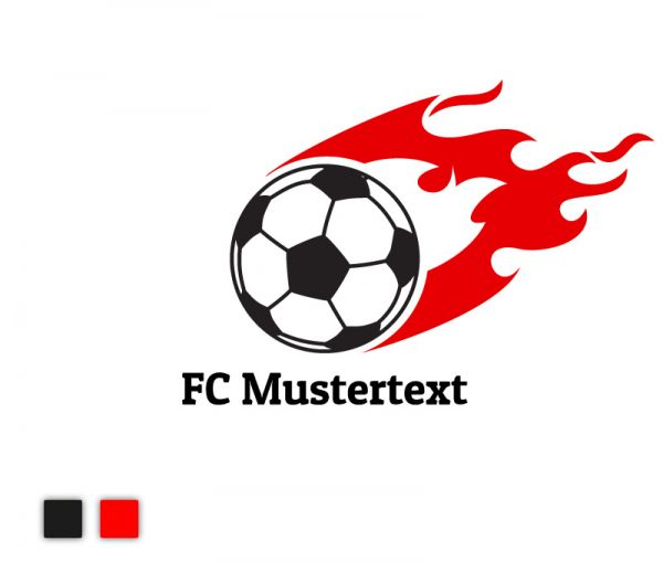 Autosticker Fußball Passion für helle Autos