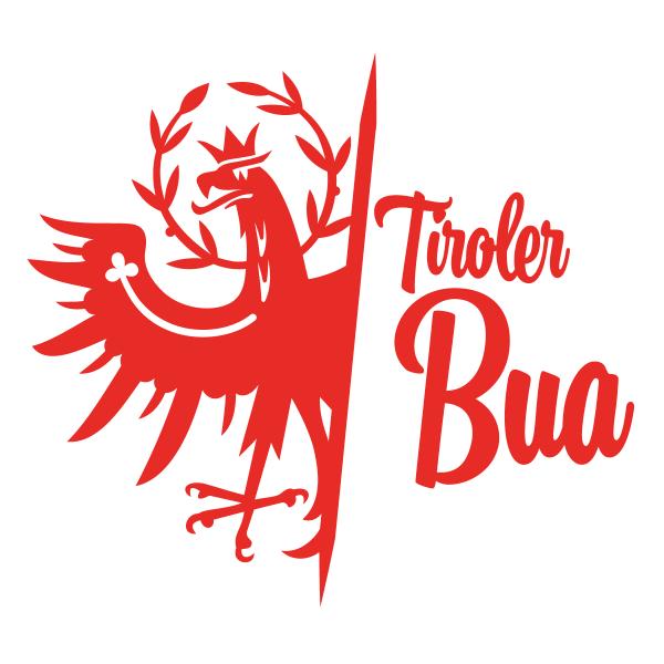 Tiroler Bua Tiroler Adler Autosticker konturgeschnitten